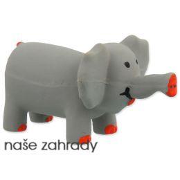 6a16c0bbc Hračka DOG FANTASY Latex Slon šedý se zvukem 10 cm